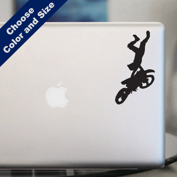 Motocross Handstand Decal - Freestyle