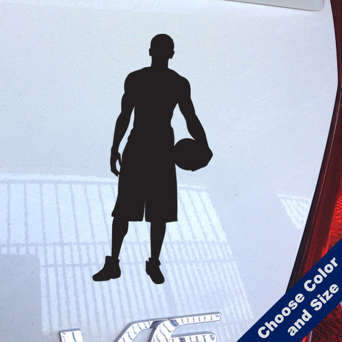 Basketball Pose Decal