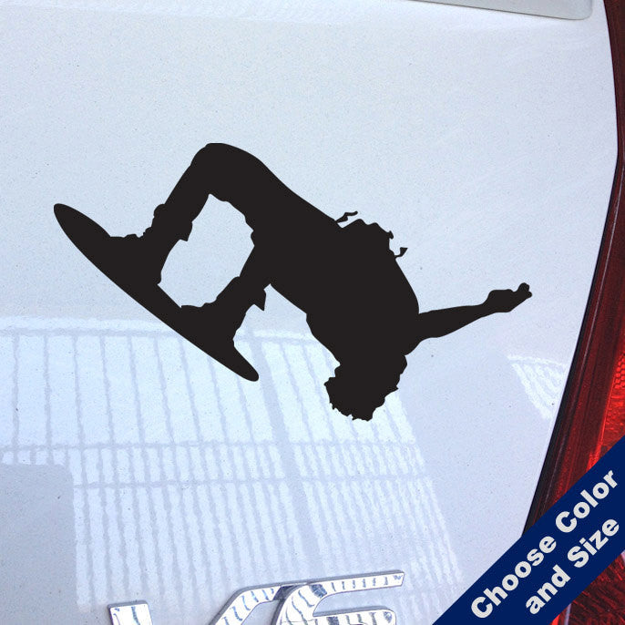 Wakeboard Flip Decal