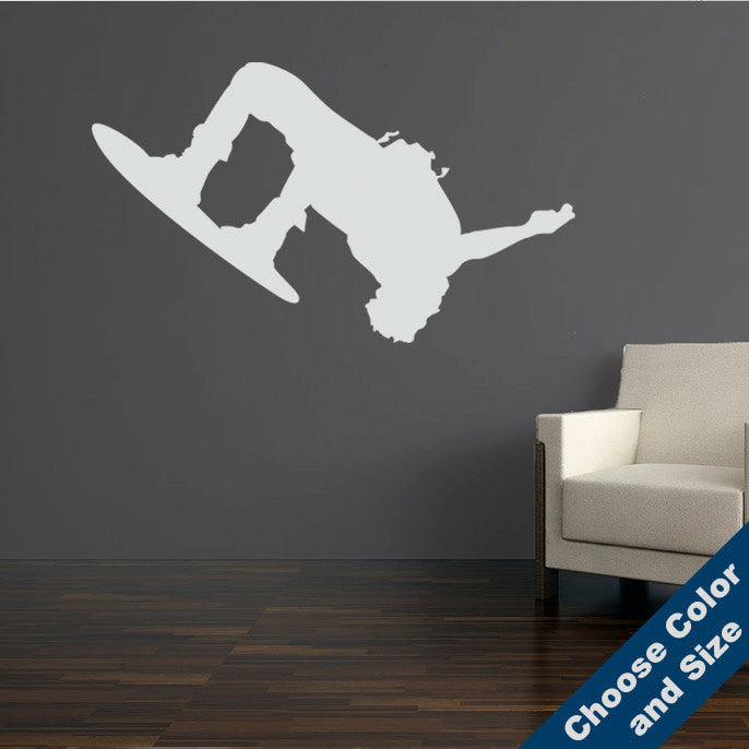 Wakeboard Flip Wall Decal