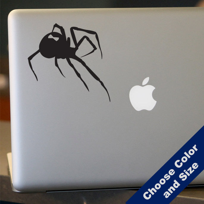Black Widow Decal