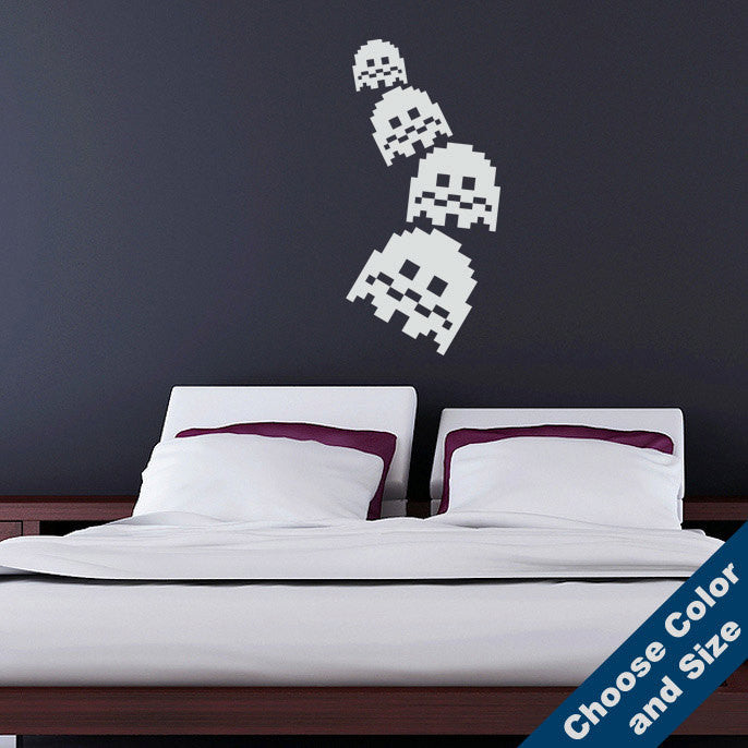 Arcade Ghost Wall Decal