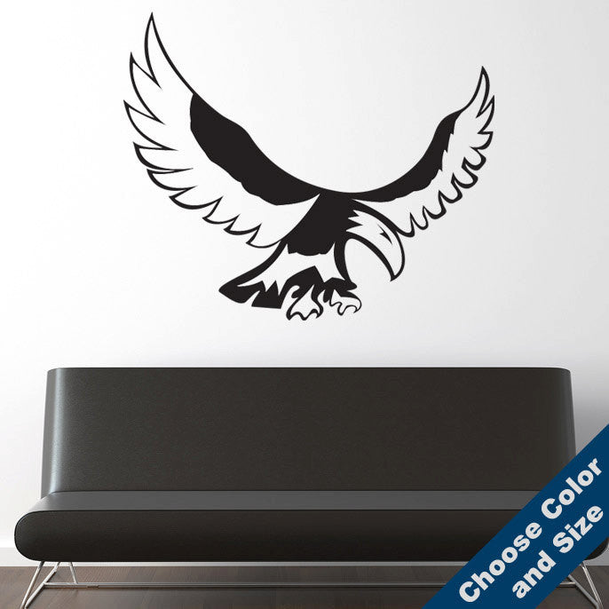 Native American Eagle Wall Decal