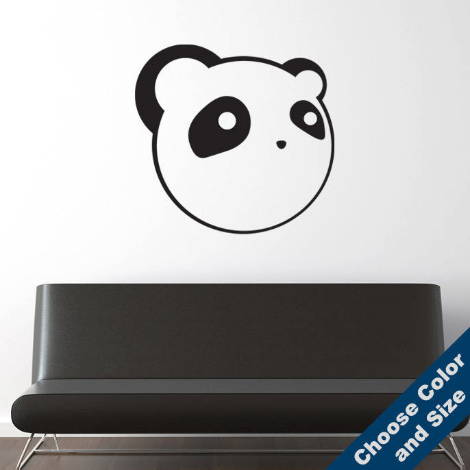Anime Panda Wall Decal