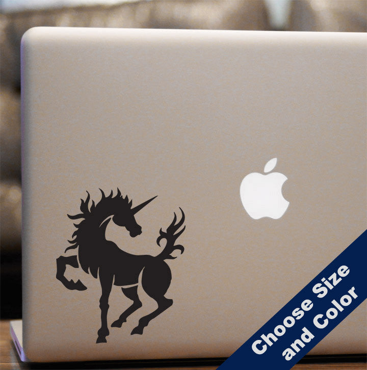 Fiery Unicorn Decal
