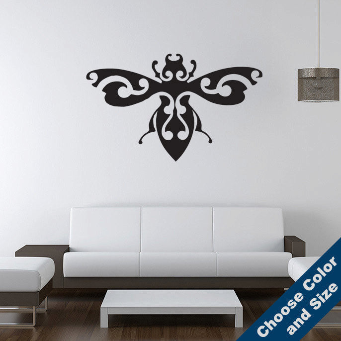 Fancy Beetle Wall Decal