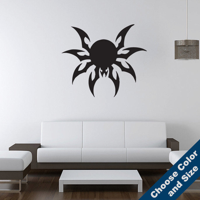 Wicked Spider Wall Decal
