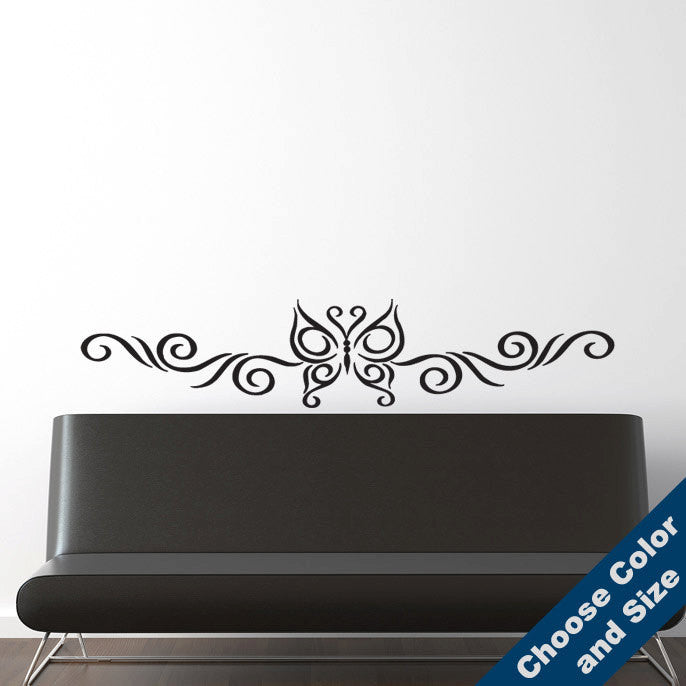 Butterfly Wall Trim Decal
