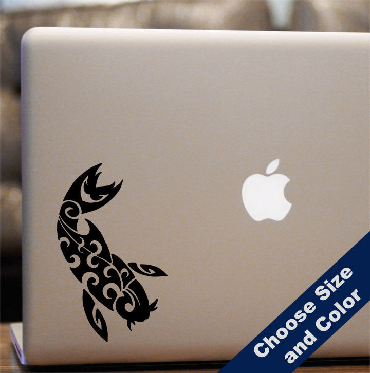 Tribal Koi Decal - Fish