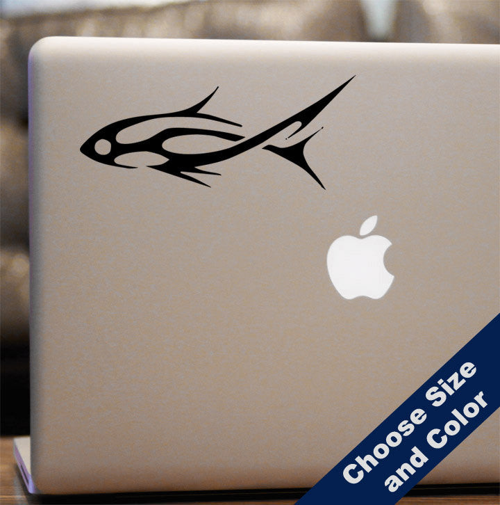 Tribal Fish Decal
