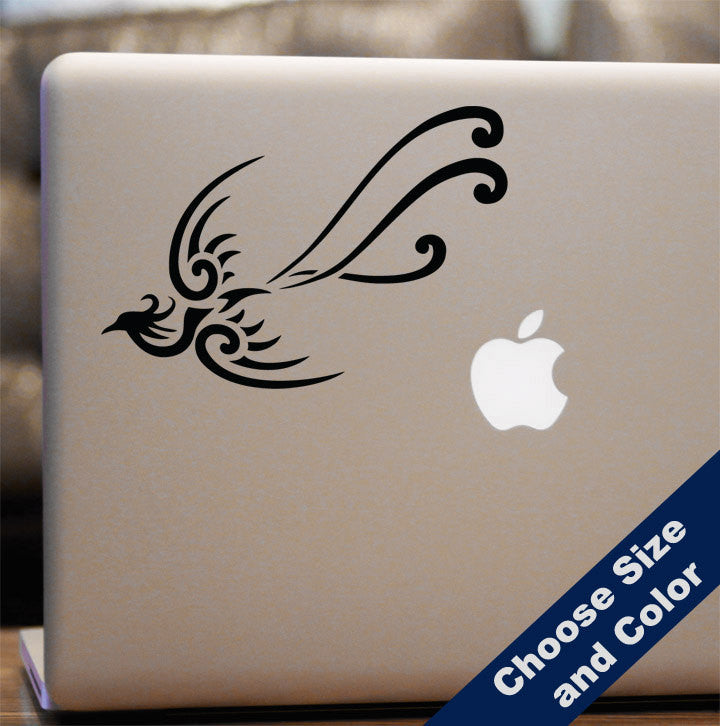 Tribal Peacock Decal