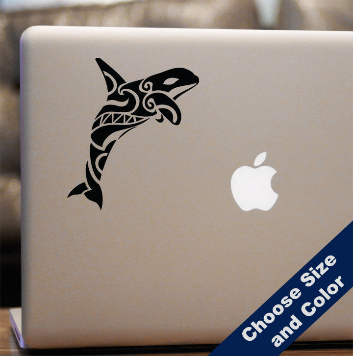 Native Orca Whale Decal