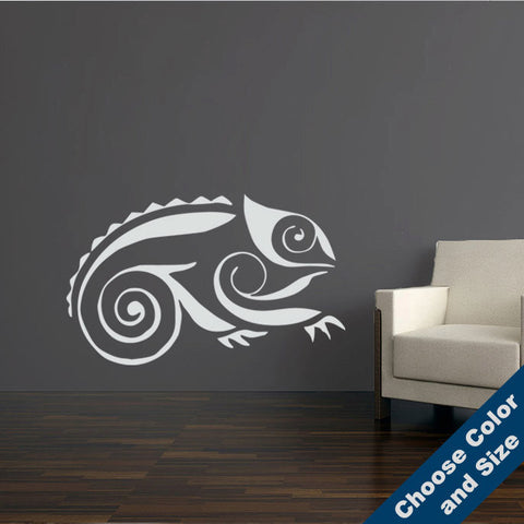 Decorative Chameleon Wall Decal