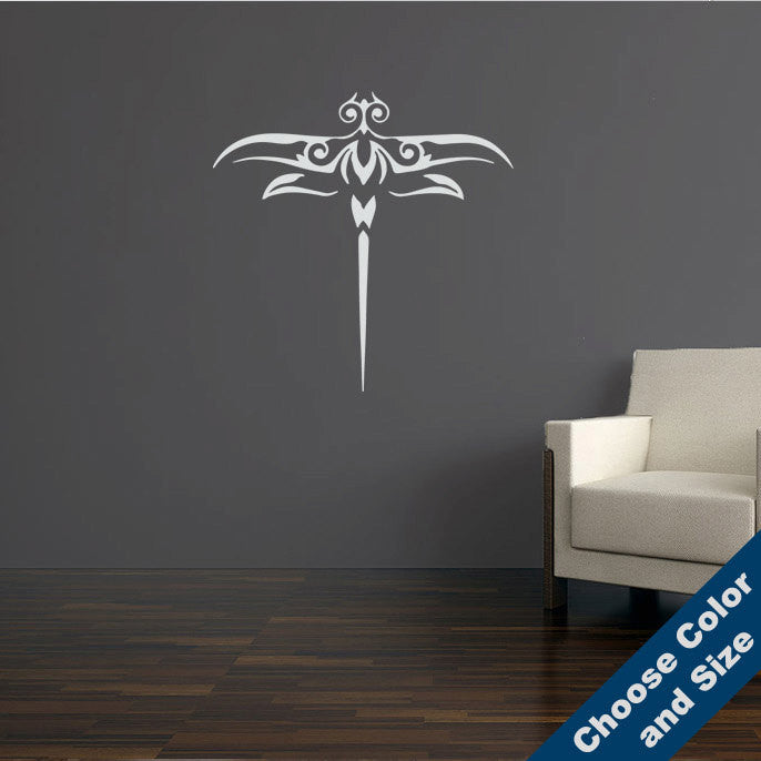 Decorative Dragonfly Wall Decal