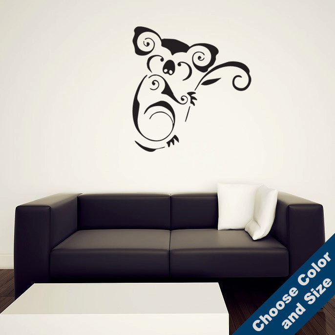 Decorative Koala Wall Decal