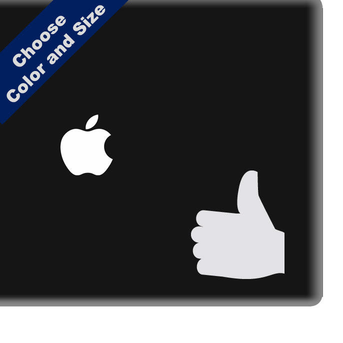 Thumbs Up Decal for iPhone, Car or Laptop