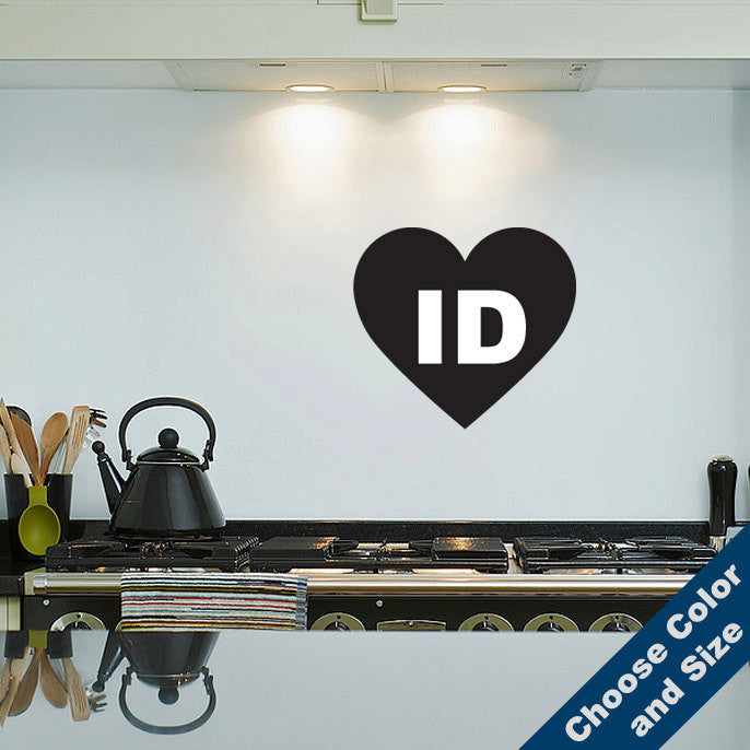 I Heart Idaho Wall Decal