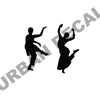 Indian Dancer Wall Set Decal