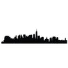 New York Skyline Decal