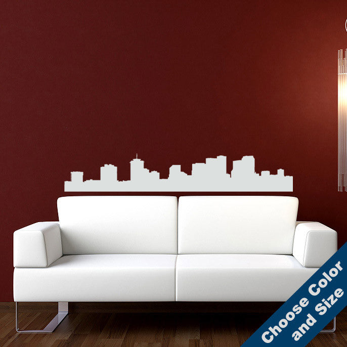 New Orleans Skyline Wall Decal