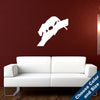 Panther on a Branch Wall Decal