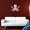 Pirate Emblem Wall Decal