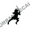 Samurai Wall Decal