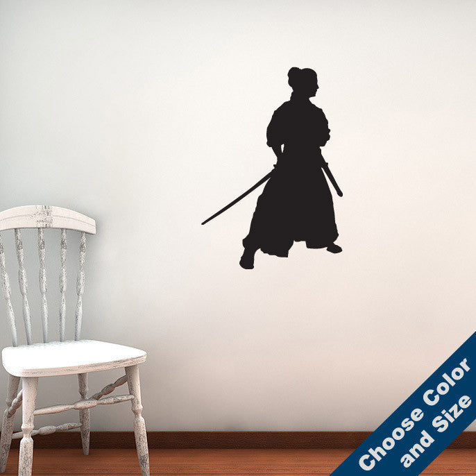 Shogun Samurai Wall Decal