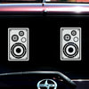 Speakers Music Decal