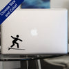 Surfing Symbol Decal, Vinyl Sticker