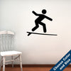Surfing Symbol Wall Decal