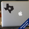 Texas Star Decal, Vinyl Sticker