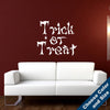 Trick or Treat Wall Decal - Holiday Vinyl Sticker