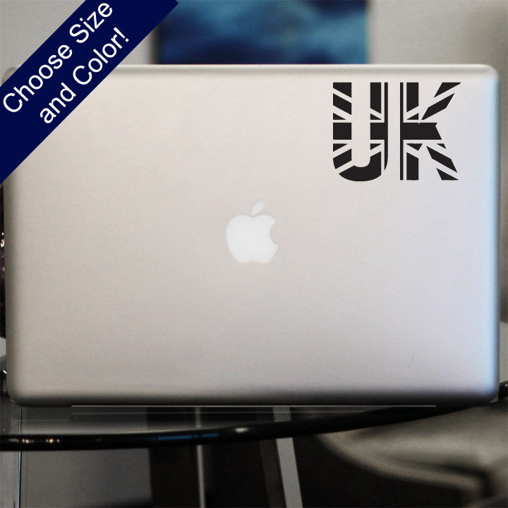 Uk flag decal vinyl sticker