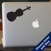 Violin Decal, Vinyl Sticker