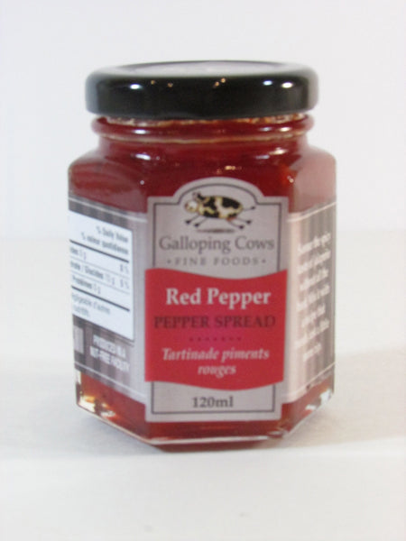 Galloping Cows Pepper Spreads - Package of Three Jars