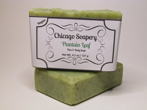 Plantain Leaf (face & body) Soap (V)