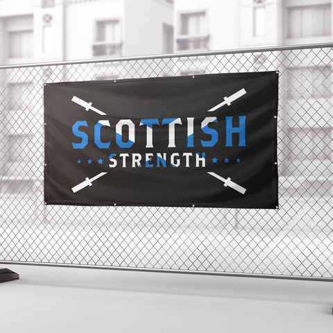 Scottish Strength Heavy Duty Vinyl Banner