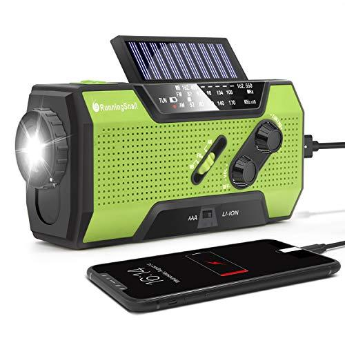 Solar Crank NOAA Weather Radio