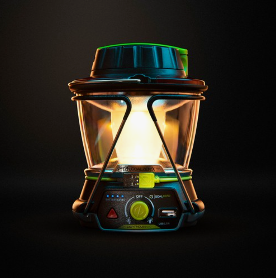 Goal Zero Lighthouse 600 Lantern & USB Power Hub