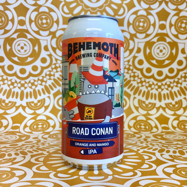 Behemoth Road Conan Orange & Mango IPA