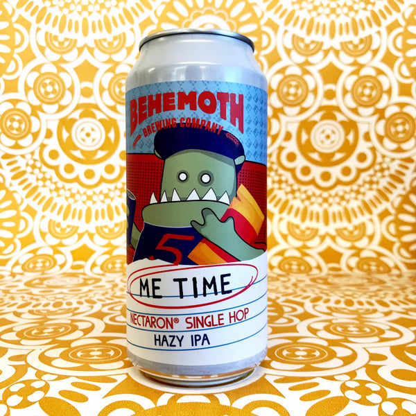 Behemoth Me Time Nectaron Single Hop Hazy IPA