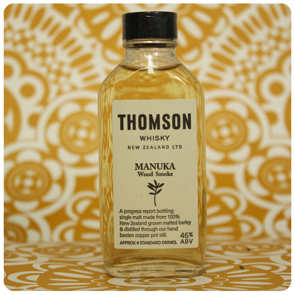 Thomson Whisky Manuka Smoke Progress Report
