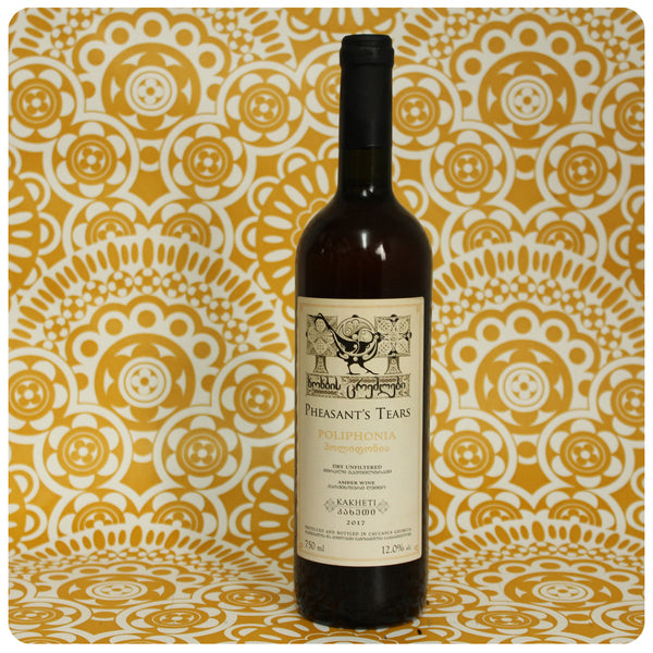 Pheasant's Tears Poliphonia 41 Unfiltered Amber Wine