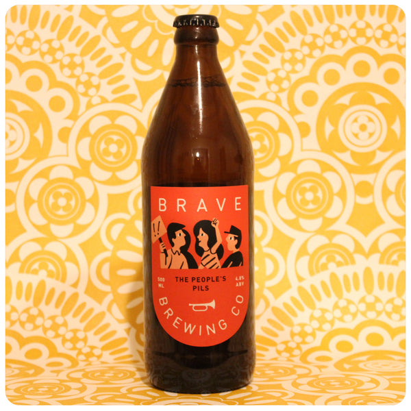 Brave Brewing Co The People's Pils Pilsner