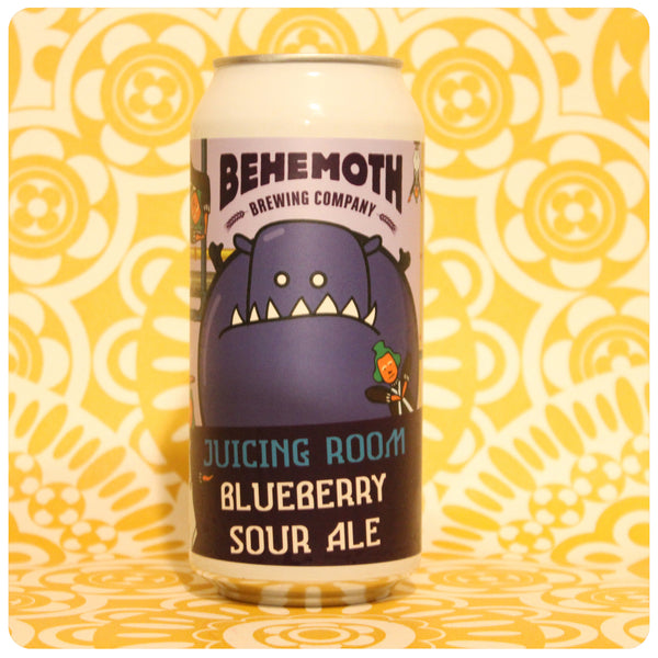 Behemoth Juicing Room Blueberry Sour Ale