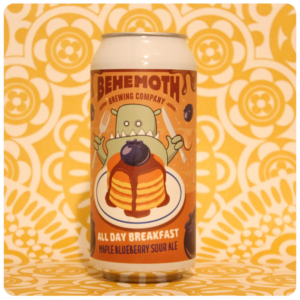 Behemoth All Day Breakfast Maple Blueberry Sour Ale