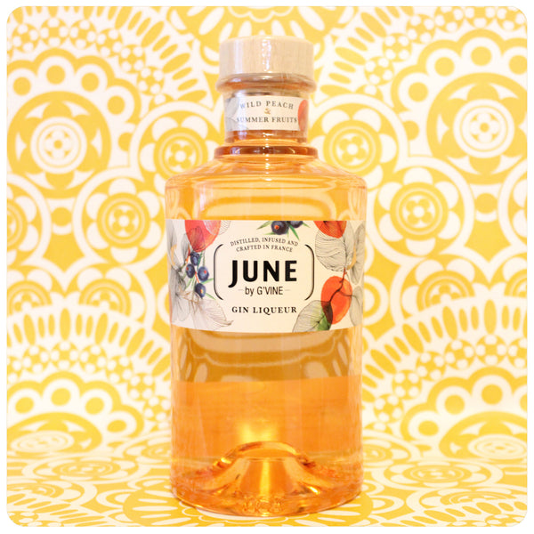 June Wild Peach Gin Liqeuer