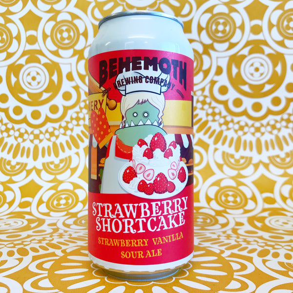 Behemoth Strawberry Shortcake Strawberry Vanilla Sour Ale