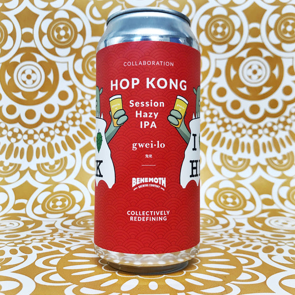 Behemoth/GWEI LO Hop Kong Session Hazy IPA